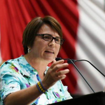 Arropa PES a Laura Beristaín como su candidata en Solidaridad