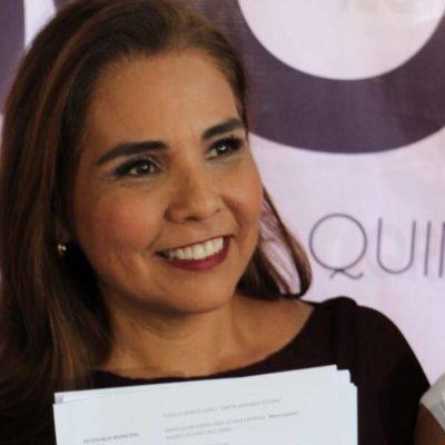 Tras el veto a la candidatura de 'Chanito', dice 'Mara' Lezama que confía en las autoridades electorales