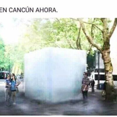"""Y ENTONCES GRANIZÓ"": Surgen los 'memes' de la tormenta que provocó la sorpresa de cancunenses"