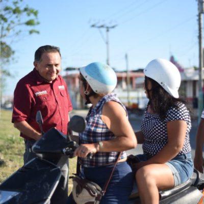 Consolidar proyectos turísticos que integren al sur del estado es una de las propuestas de José Luis Pech