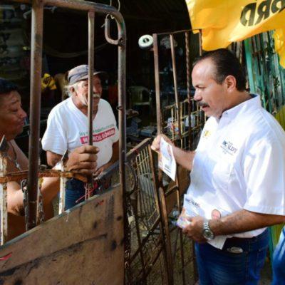 Erradicar la marginación social y económica de la zona maya, promesa de Julián Ricalde