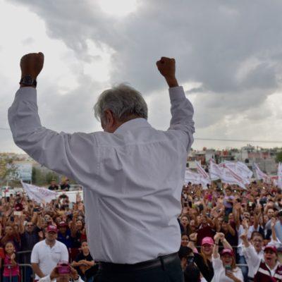 Exonera el TEPJF a AMLO de actos anticipados de campaña