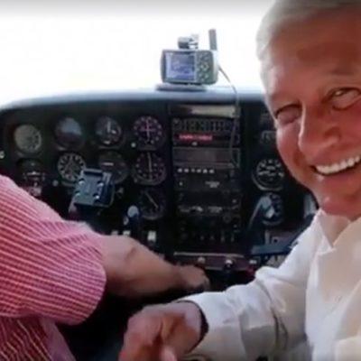 El vuelo de AMLO que los unió | Por Raúl Caraveo Toledo