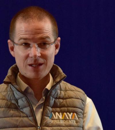 Ricardo Anaya se sorprende de la decisión del TEPJF con el caso 'Bronco', pero la respeta