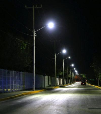 ARRANCA PROYECTO DE CAMBIO DE LUMINARIAS EN CANCÚN: En los próximos 6 meses, se instalarán más de 48 mil lámparas LED de última generación similares a las que tienen ciudades como Los Ángeles, Nueva York o Las Vegas