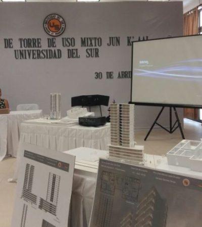 Universitarios presentan propuestas arquitectónicas en el Ayuntamiento de BJ