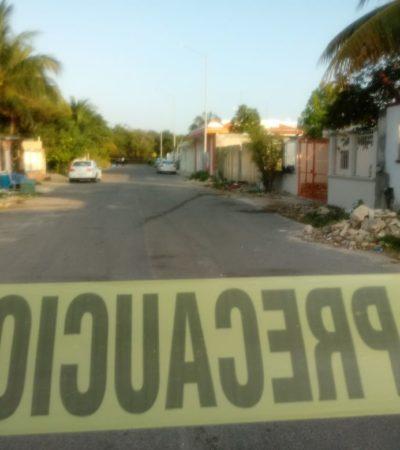 Matan a un hombre en la colonia Ejido de Playa del Carmen