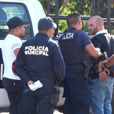 'Desaparece' policía de Cozumel a detenido tras balacera