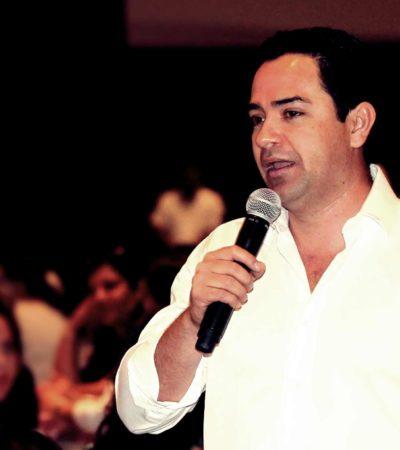 SALE 'HUMO BLANCO' DEL PRD: Después de semanas de estira y afloja, designan a 'Chanito' Toledo candidato del 'Frente' a la Alcaldía de Cancún; confirman candidatos en Bacalar, Tulum, FCP y JMM