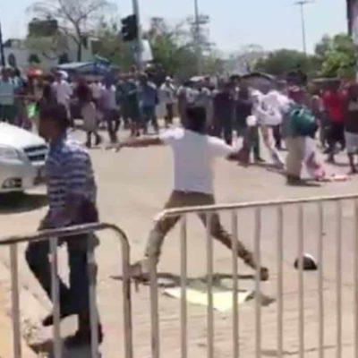 Meade culpa a maestros de Oaxaca de ser violentos y de entorpecer la educación en el estado