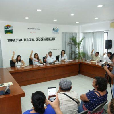 Cuestionan regidores uso del dinero público en Tulum