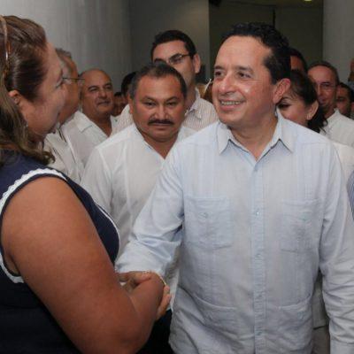 Rechaza Carlos Joaquín tener candidatos y en particular en Benito Juárez