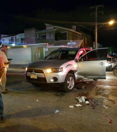 Motociclista queda grave, tras choque en la SM 59