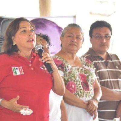 Cora Amalia pide debate entre candidatos por el Distrito 02 de QR