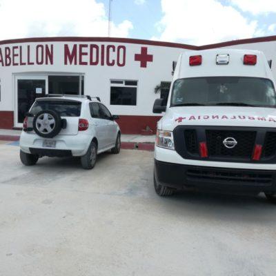 Embargan una ambulancia de la Cruz Roja en Cozumel por un añejo pleito laboral