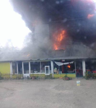 EXPLOTA DEPÓSITO DE 'HUACHICOL' EN HUIMANGUILLO: Reporte preliminar de varias personas heridas por comercio ilegal de combustibles