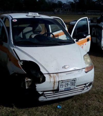 Aparece taxi de operadora desaparecida en JMM