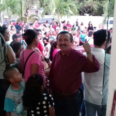 Domingo Flota pugnará por presidencia de José María Morelos