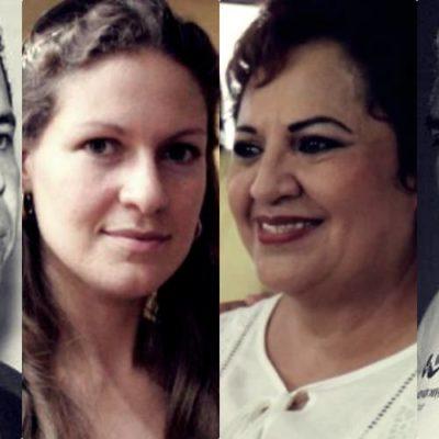 ESPOSAS Y CANDIDATAS EMERGENTES: Entrampados por la ley, ceden sus candidaturas a sus cónyuges