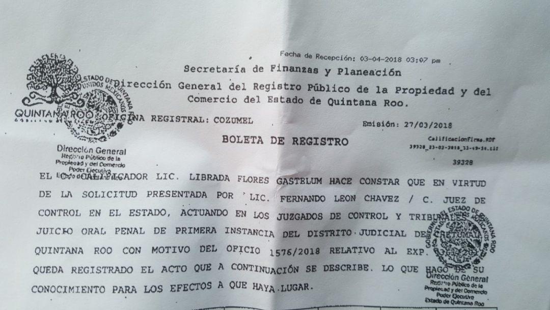 CIERRAN LA PINZA EN TORNO A LOS MÁS CERCANOS A BORGE: Confirman embargo de 22 predios a la madre del ex Gobernador encarcelado