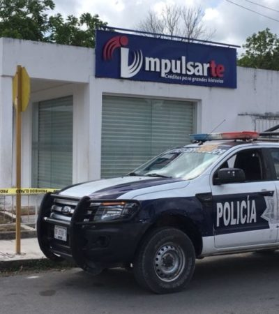 Roban financiera en FCP, pero deciden no denunciar