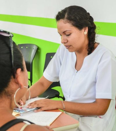 Jornada médica preventiva en Puerto Morelos