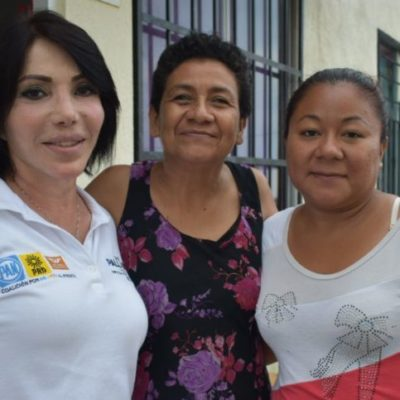 'Reducir el IVA en estados fronterizos como Quintana Roo, bajará precios de los bienes y ayudará al estado', afirma la candidata Gaby Pallares
