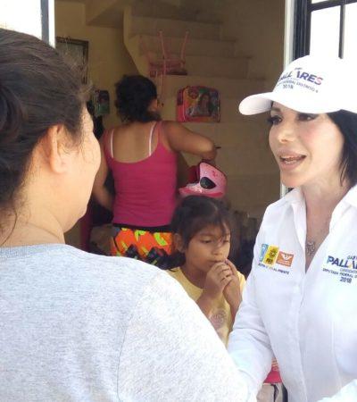 La seguridad es primordial para Cancún: Gaby Pallares