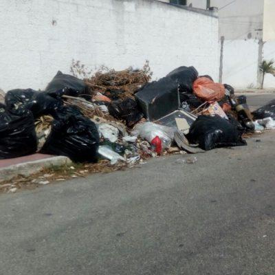 DEFICIENTE RECOLECTA EN MÉRIDA: Piden vecinos de la Chuburná más camiones de basura