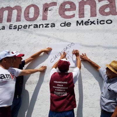Morenistas de Puerto Morelos no votarán por nadie del partido