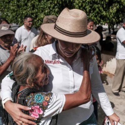Marybel Villegas regresará a caminar por todo el estado por segunda ocasión