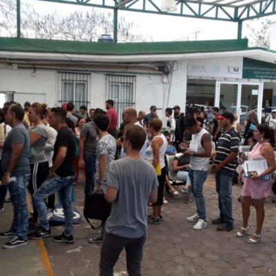 Incrementa un 18 por ciento la migración de venezolanos a Cancún