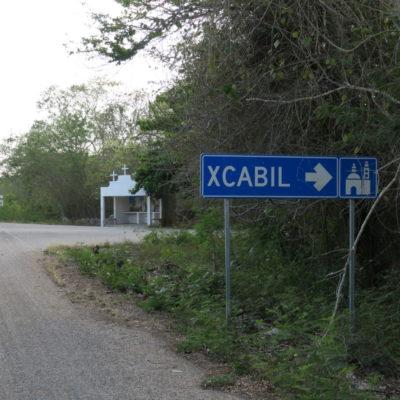 X'CABIL, AL MARGEN DEL DESARROLLO: Como muchos pueblos de la Zona Maya, sufre abandono y sus habitantes optan por emigrar a las ciudades turísticas para conseguir trabajo