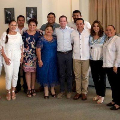 Se reúne Carlos Joaquín con Ricardo Anaya y candidatos en la Riviera Maya