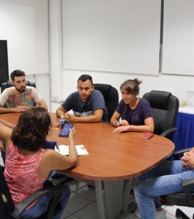 Jóvenes franceses continúan estudios, comparten saberes y conocen lugares únicos por estar en Cancún