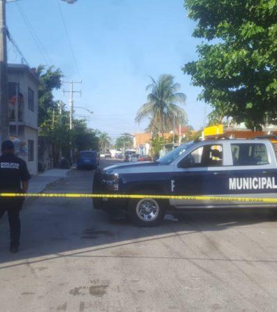 FALLIDA EJECUCIÓN EN PLAYA: Balean a un hombre en la colonia Nicté Ha, pero víctima repele agresión con un revólver