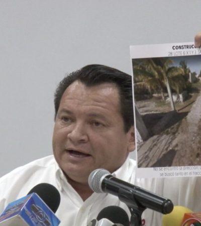 Joaquín Diaz Mena da a conocer 21 empresas fantasmas de Mauricio Vila por desvíos de recursos por 219 mdp