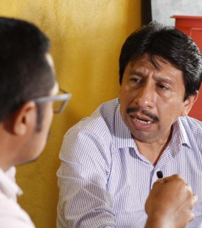 ENTREVISTA   El Gobernador es respetuoso del proceso electoral, no hay una influencia de su parte, asegura Víctor Mas Tah