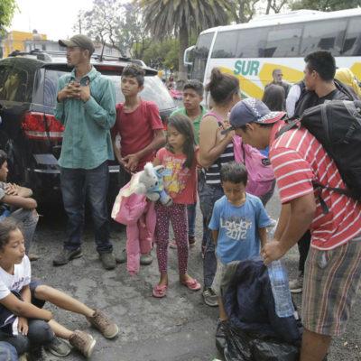 Envían agentes de la Gendarmería Nacional en la frontera sur y organizaciones de defensa de derechos humanos repudian el acto de México