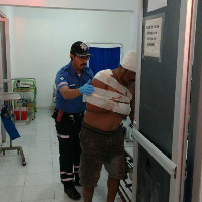 Riña familiar en Tulum deja un saldo de 5 personas macheteadas