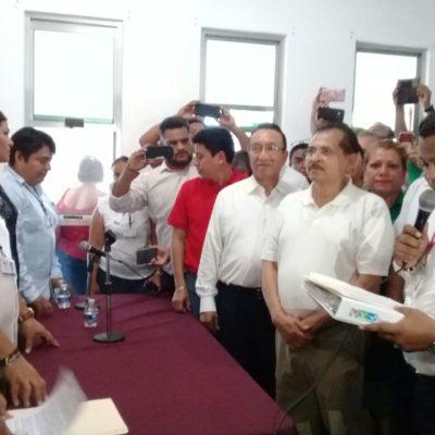 Inscribe el PRI-PVEM-Panal a Martín de la Cruz para Solidaridad