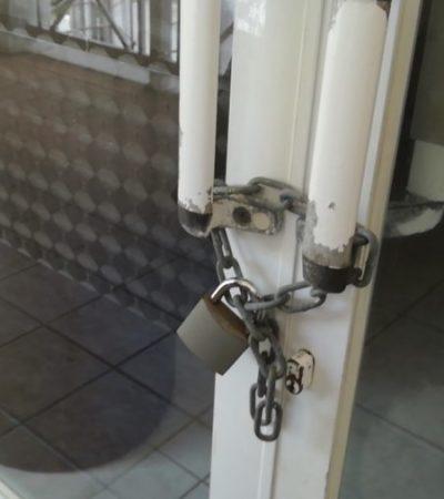 Sin dar explicaciones, Ayuntamiento de Cozumel cierra oficinas de Canirac