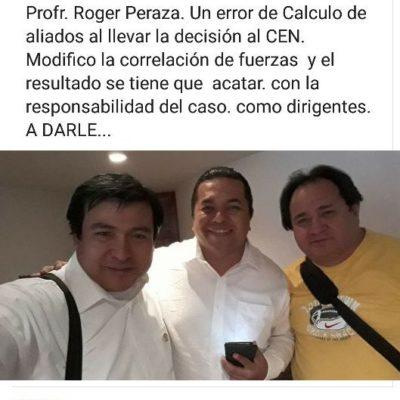 """""""Error de cálculo"""", la designación de Chanito Toledo, consideran perredistas del sur de la entidad"""