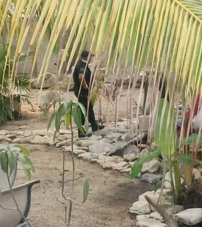 MACABRO HALLAZGO: En la entrada de un cenote de Playa del Carmen encuentran dos osamentas