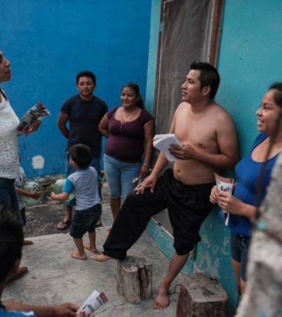 Marybel Villegas combatirá la violencia con educación y progreso, dice
