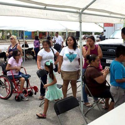 Llevan Brigada Médica a Villas Otoch Paraíso