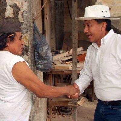 Jesús Pool apoyará a la familia para atenuar la falta de valores en la sociedad mexicana