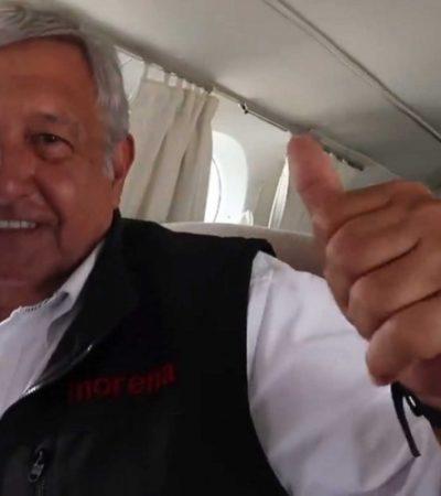 """DESDE LA NUEVA TORMENTA MEDIÁTICA: """"Volveremos a usar taxi aéreo de ser necesario"""", advierte vocero de AMLO"""