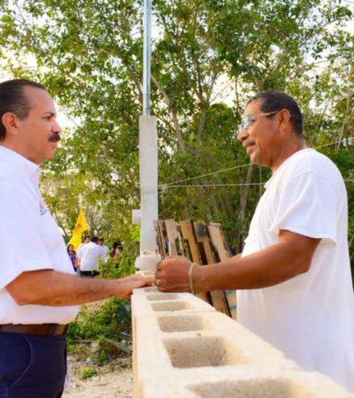 En recorrido por Puerto Morelos, Julián Ricalde se declara comprometido con la industria turística