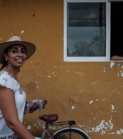 Marybel Villegas se declara enemiga del 'outsourcing' y se compromete a blindar Ley Federal  del Trabajo